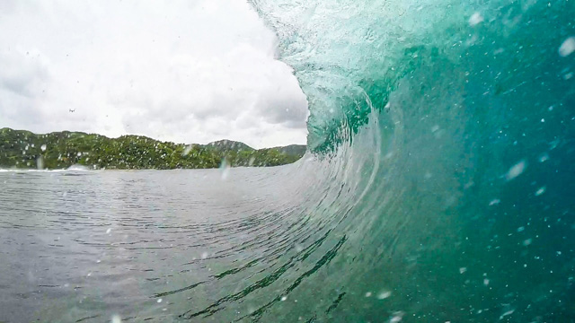 Alex Gray Scores an Epic GoPro Barrel Somewhere in South East Asia