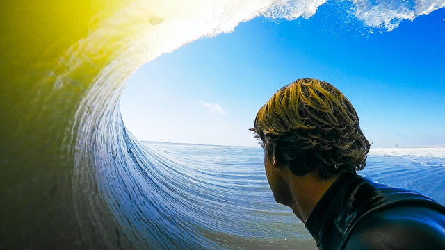 Benji Brand in Another Epic Skeleton Bay Barrel