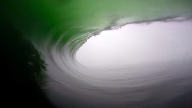 Super Long GoPro Barrel from Benji Brand in Namibia