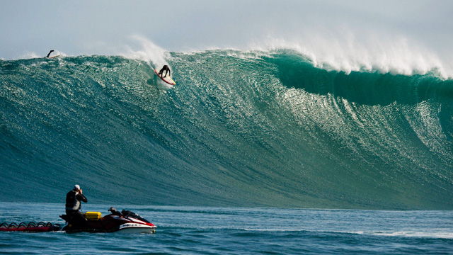 Big Wave Surfing Cape Town South Africa