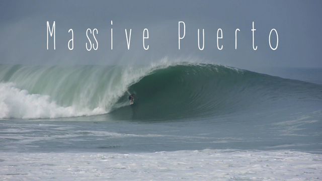 Massive Big Wave Mayhem at Puerto Escondido