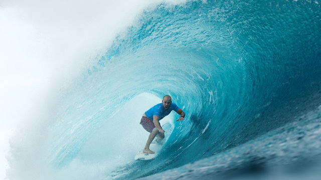 CJ Hobgood's Impossible Barrel at Teahupo'o