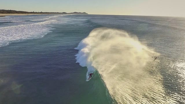 Awesome Drone Video of Byron Bay