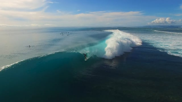 Awesome Drone Video of Perfect Mentawai Islands Surf