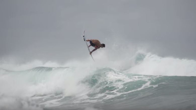 Gabriel Medina, Owen Wright, Matt Wilkinson & Mason Ho on the North Shore