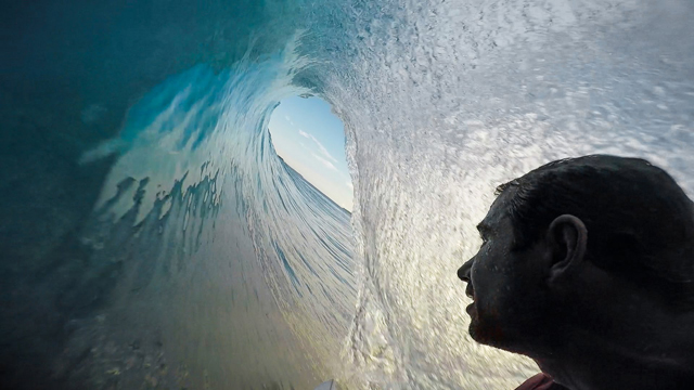 GoPro POV Barrels at Nokandui