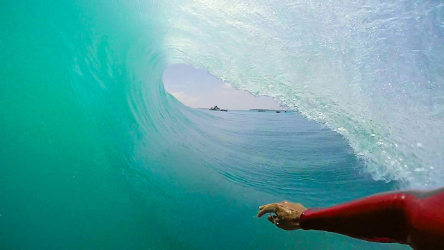Kandui GoPro Barrel with Jean De Silva