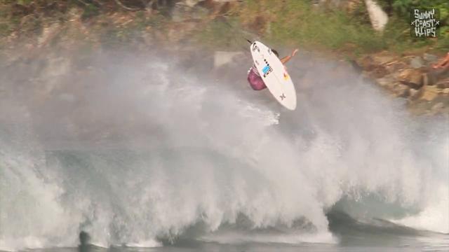 Juilan Wilson Surfing Noosa