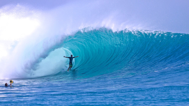 Kandui in the Mentawai Islands Pumping