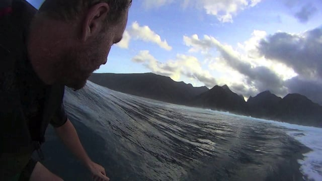 Mark Mathews' Massive Teahupo'o POV