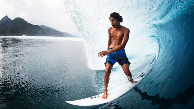 Matahi Drollet Has Teahupo'o Wired