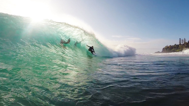 Mick Fanning & Mates at Snapper Rocks
