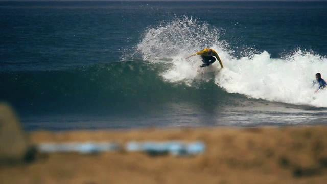 Mick Fanning Shredding Trestles