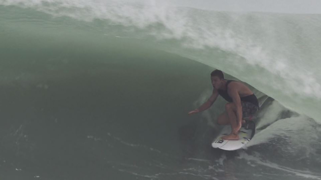Mitch Crews Scores Countless Mexican Barrels