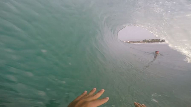 Barrel Riding Mastery at Puerto Escondido
