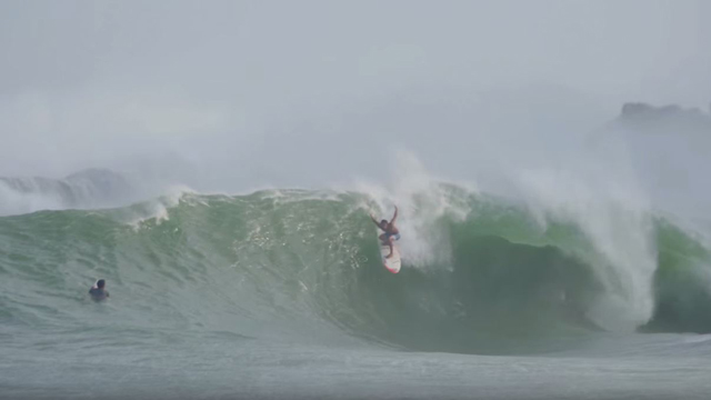 Young Blood Shredding a Sand Bottom Point Break in Mexico