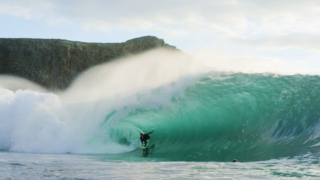 Shane Dorian Surfing Irish Heaven