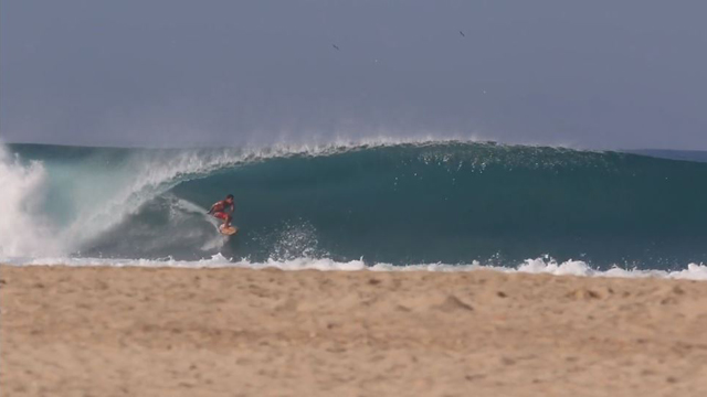 Barrelling Mexican Beach Breaks with Cesar Petroni