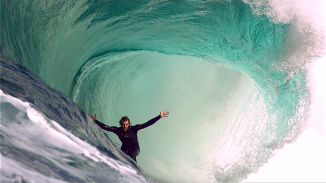 High Definition Slow Motion Surfing