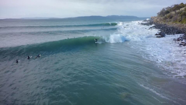 Epic Tasmanian Point Break