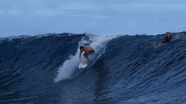 Teahupoo Freesurf at the Billabong Pro Tahiti