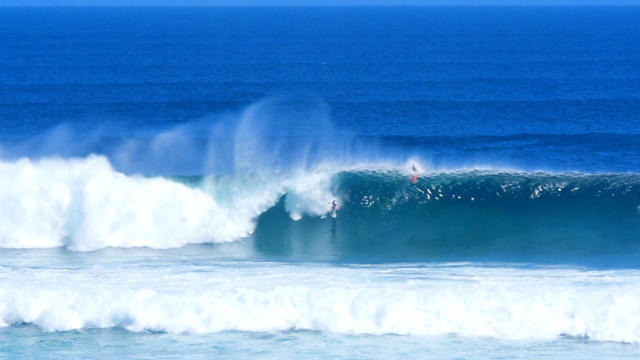 Uluwatu Big Wave Perfection