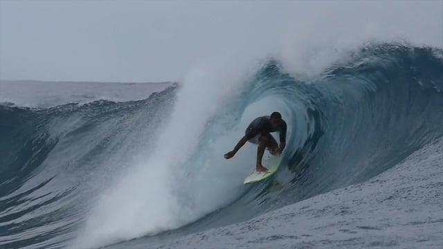 Wiggolly Dantas Freesurfing Teahupo'o