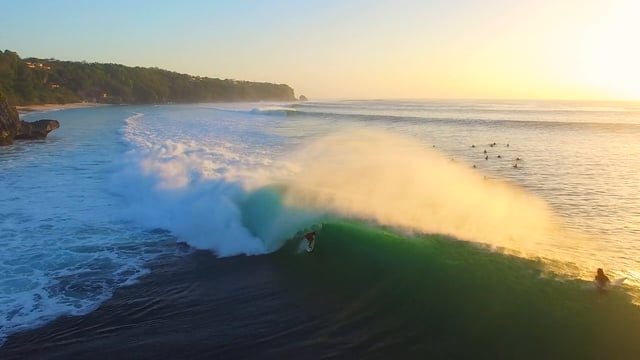 Epic Padang Padang as Bali Gets Swell of the Decade