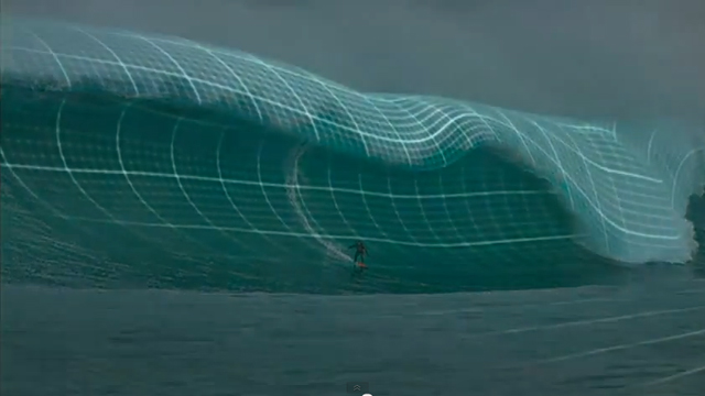 Big Waves – Just How Heavy are They?