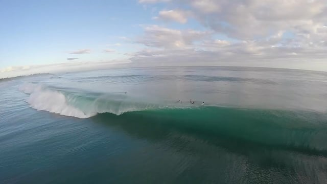 Drone Video of Dredging Barrels in Chatarra Puerto Rico