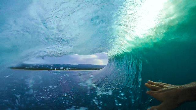 GoPro Indonesian Barrel with Marco Giorgi