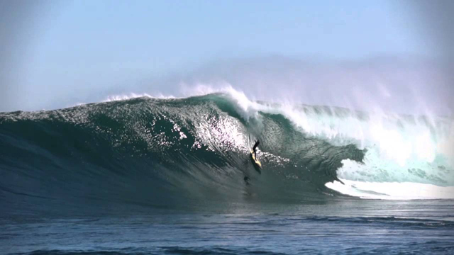 Big Wave Wipeout at Dungeons in South Africa