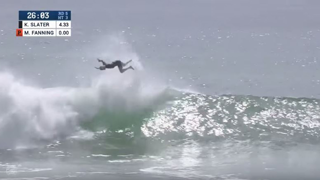 Kelly Slater Air Insanity at the Hurley Pro