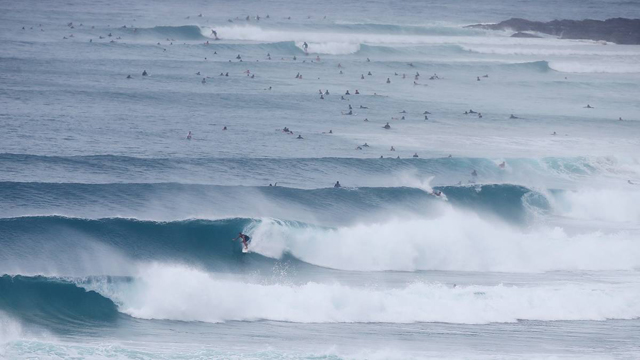 Epic Kirra Cyclone Swell