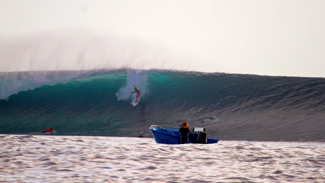 Pumping Mentawai Islands with 12 Year Old Kyllian Guerin