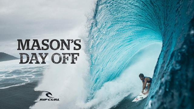 Mason Ho Surfing Heavy Teahupo'o