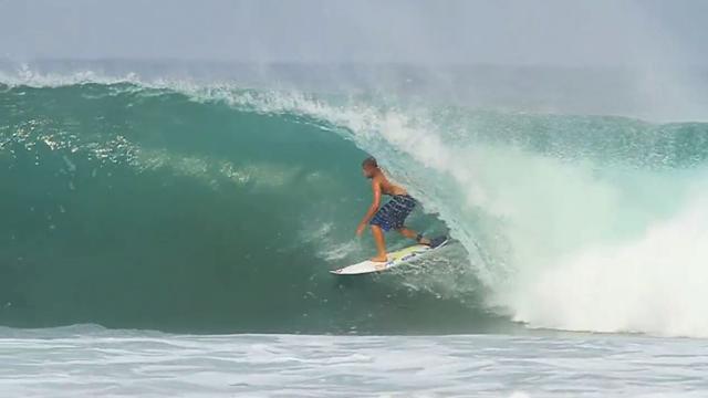 Mick Fanning & Dane Reynolds Surfing Mexico