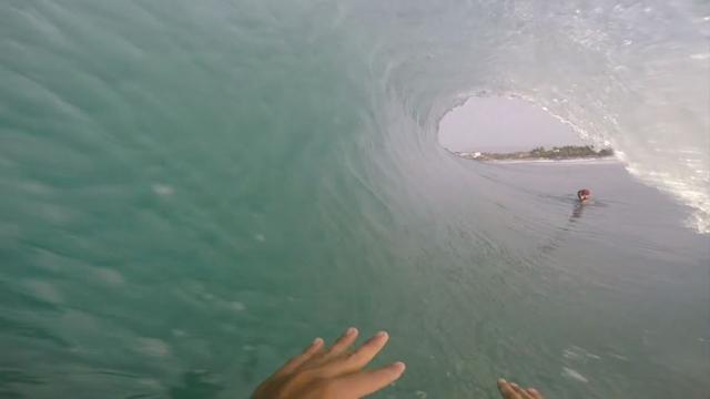 Barrel Riding Mastery at Puerto Escondido