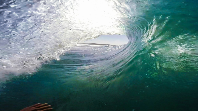 GoPro Barrel Sweetness by Rudy Palmboom