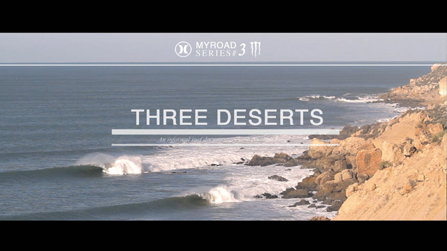 Surf Morocco – Three Deserts has Lines of Perfection