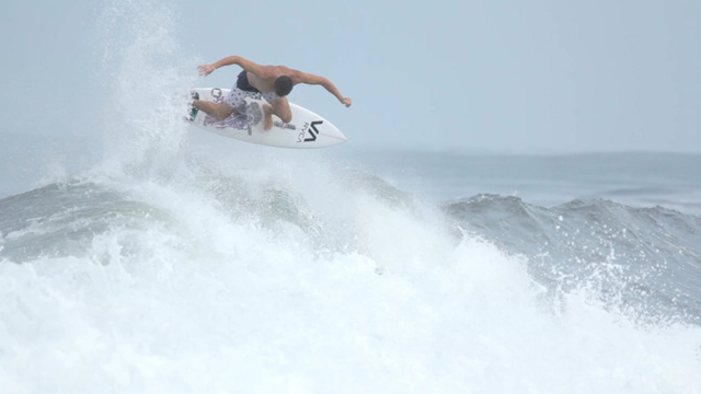 Getting Shacked Surfing Nicaragua