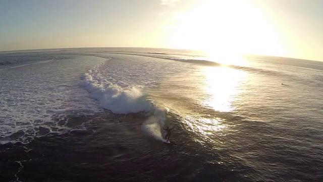 Surfing Restaurants in Fiji by Drone