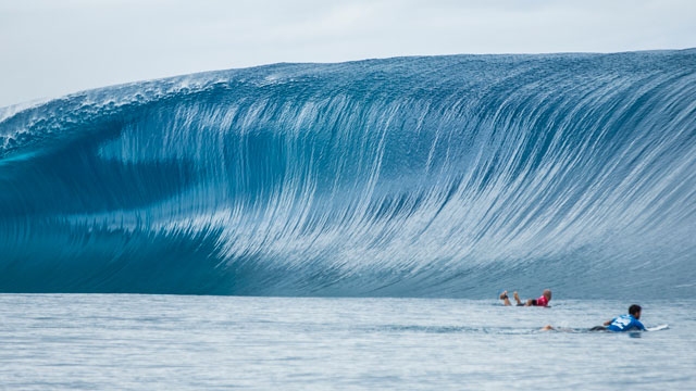 The Best Waves of the Year So Far in Tahiti