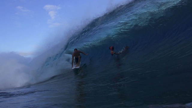 This is What the Warm Up for the Billabong Pro Tahiti Looks Like