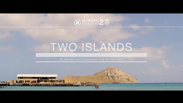 Two Islands by Nic von Rupp